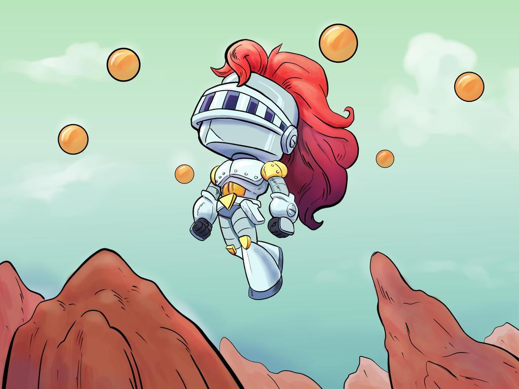 Chibi Knight Robot by Marreto