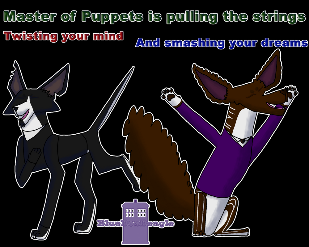 Masters of Puppets (speedpaint) by SassyTheBeagle