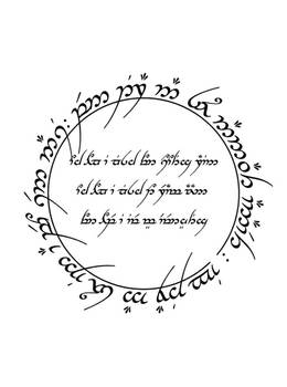 Elvish Tattoo