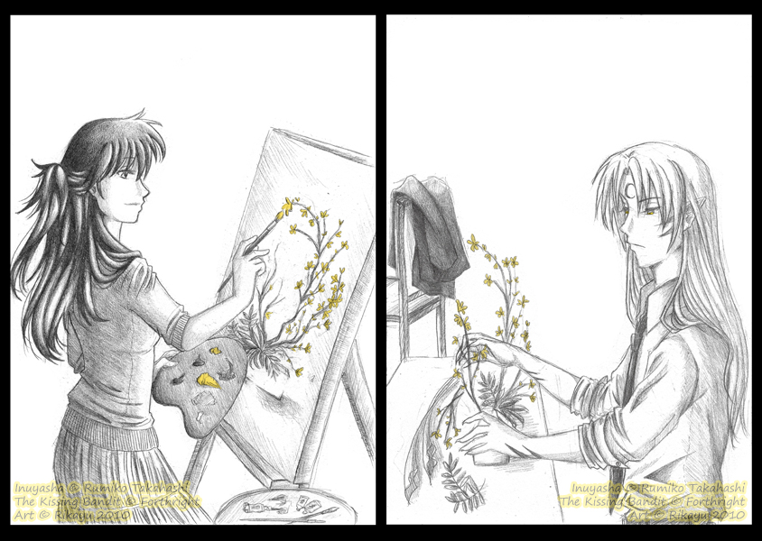 Forsythia by Rikayu-chan