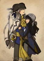 SessKag--Pirates by Rikayu-chan