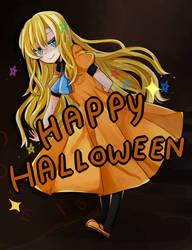 Happy Halloween ~ +speedpaint by anSpake