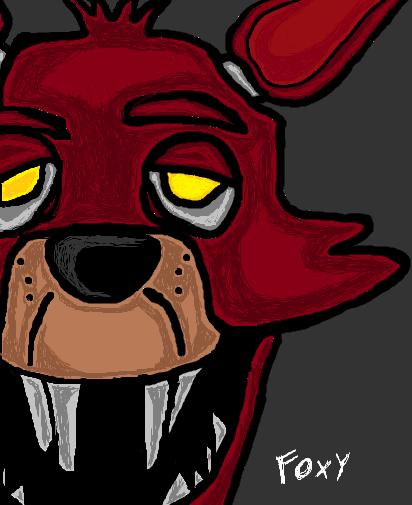 5 Nights at Freddy's Foxy by StickMasterDraw