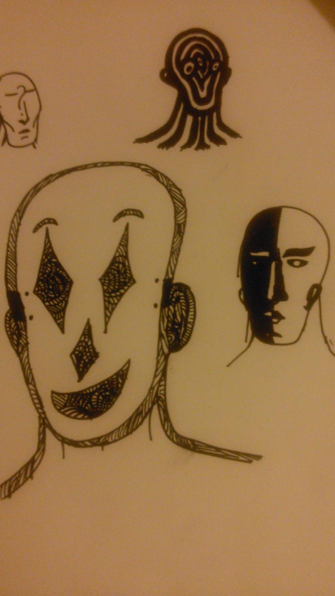 Faces by StickMasterDraw