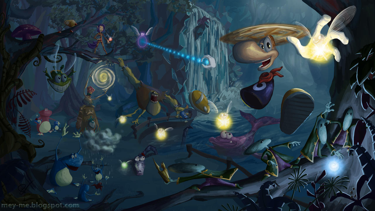 Rayman is Back by Mey-Me