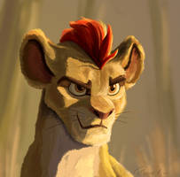 Kion Being All Cool and Stuff by pierrevanderweerd