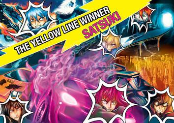 Yellow Line Winner by Chimeria