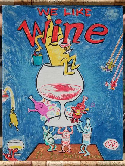 We Like Wine II by jollyoink