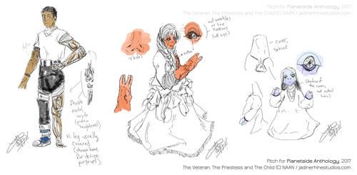 The Veteran, Priestess and Child