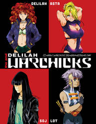 Delilah and the WARCHICKS (website)