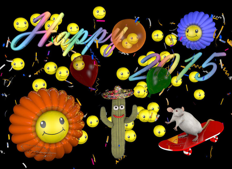 Happy 2015 by plumita1