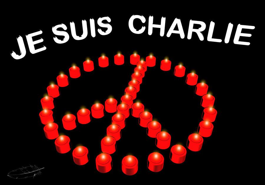 Je Suis Charlie by plumita1