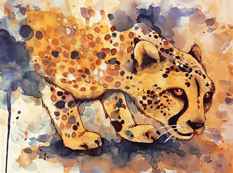 Cheetah by sabrinaenn