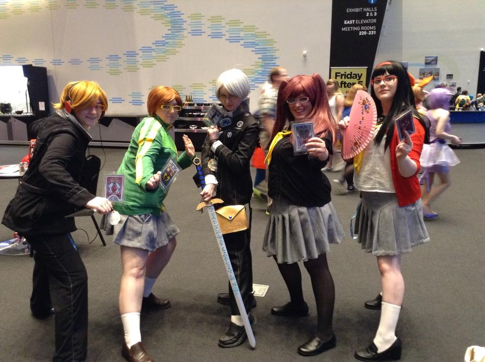 Persona 4 group cosplay by Ceraine on DeviantArt
