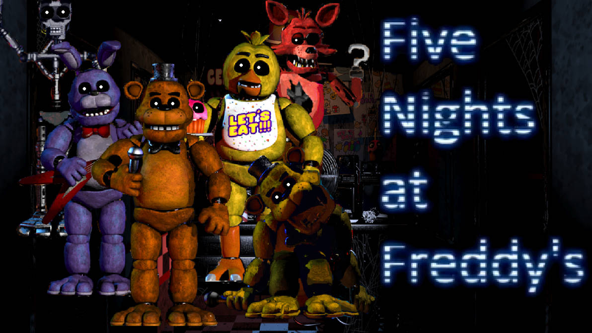 Five Nights At Freddy S 1 Wallpaper By Pedrophhd On Deviantart
