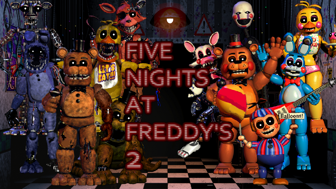 Five Nights At Freddy S 2 Wallpaper By Pedrophhd On Deviantart