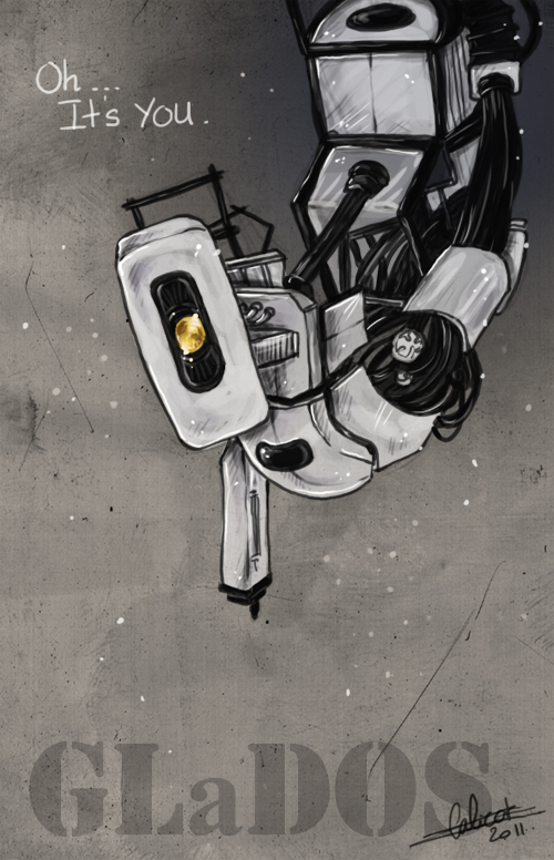 Portal - GLaDOS by Calicot-ZC