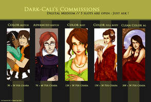 Commissions ID - DIGITAL by Calicot-ZC