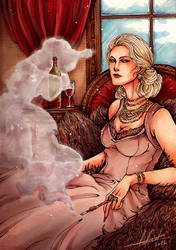 Orphetelith E. Levinson - Red Wine by Calicot-ZC