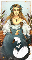 Leda-Valentyne O. Shields - The Swan and the Reeds