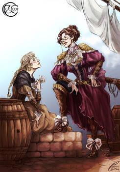 Mrs M. Project ~ Pirates AU