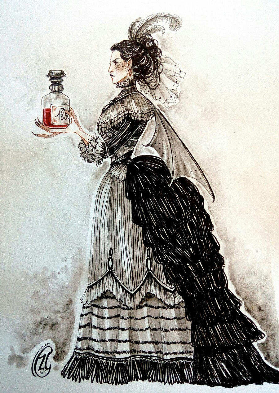 CharaDesign Challenge ~ Vampire Countess Valeria by ...