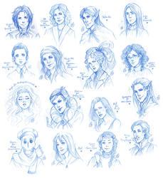 CONTEST EXTRA PRIZES ! Sketches Part I