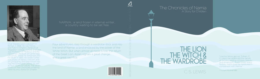 Modern Book Cover ~ Modern book cover of narnia by jclaramae on deviantart