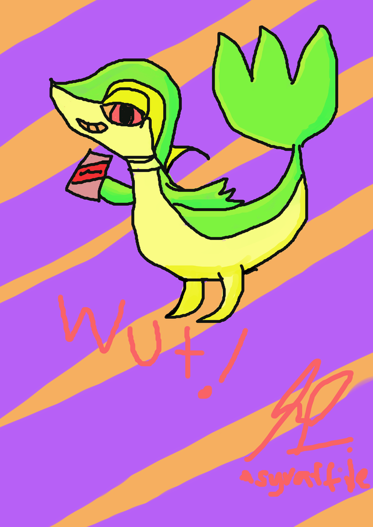 Worse Snivy by AsyrafFile
