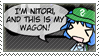 The Nitori's Wagon Stamp by AsyrafFile