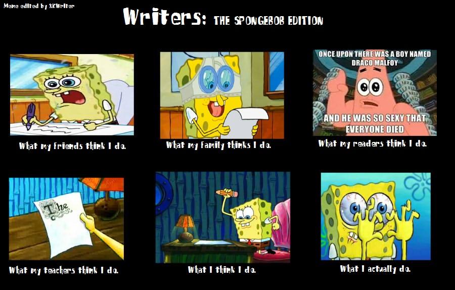 Writing help meme