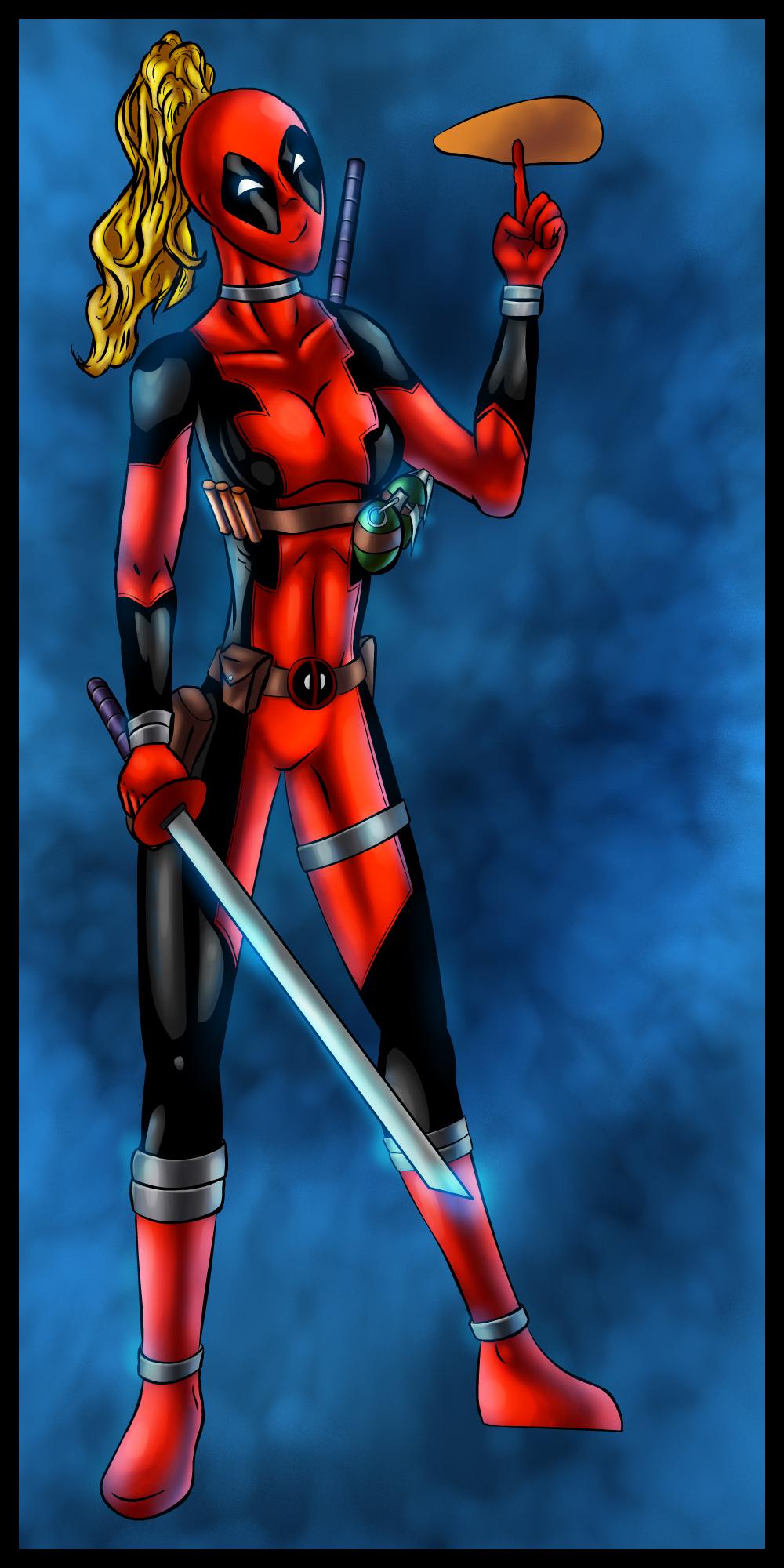 Lady Deadpool - colors by ZethKeeper