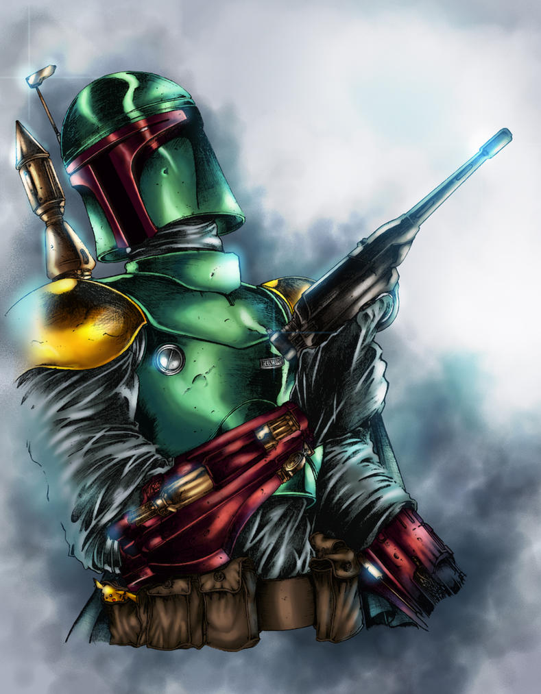 The Fett - colors by ZethKeeper