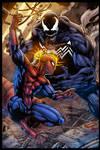 Spidey VS Venom - colors