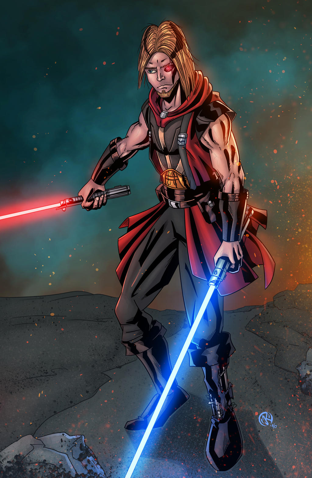 Lord S - Star Wars OC commission by ZethKeeper