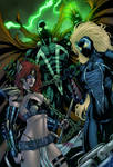 Spawn, Angela and Nyx - colors
