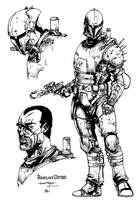Rohlan Dyre - inks by ZethKeeper