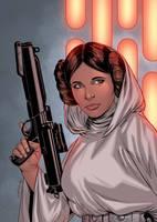 Princess Leia - colors by ZethKeeper