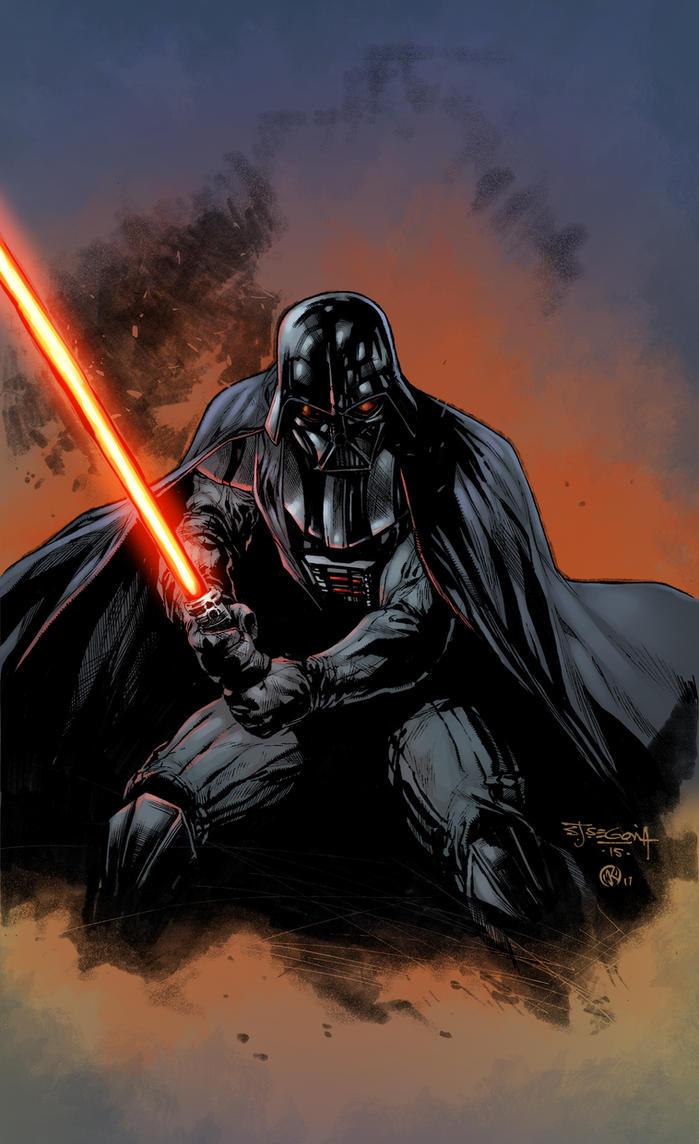 Darth Vader Sketch - colors by ZethKeeper