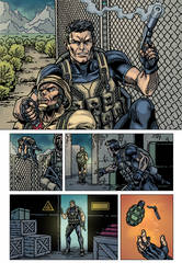 Raptors: The Metahuman Conspiracy page 2 - colors by ZethKeeper