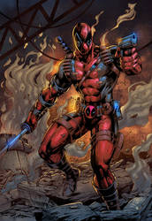 Deadpool - colors by ZethKeeper