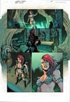 Red Sonja Page 01 - Sample Colors