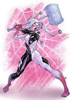 Spider-Quinn -- colors