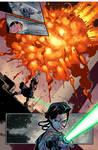 Star Wars: Kanan #8 page 14 - sample colors