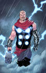 God of Thunder - colors