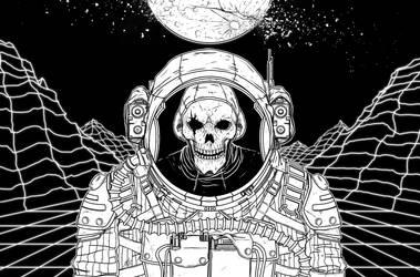 Skeleton Astronaut