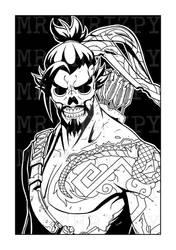 Hanzo Skeleton