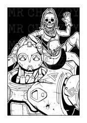Orisa and Efi Skeletons