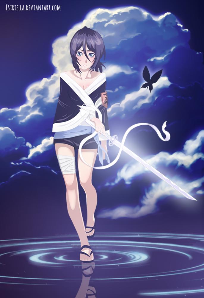 Kuchiki Rukia by Estriella