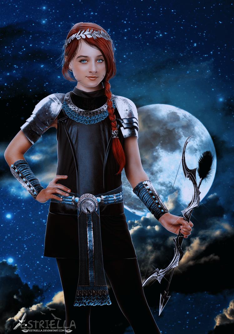 Artemis by Estriella